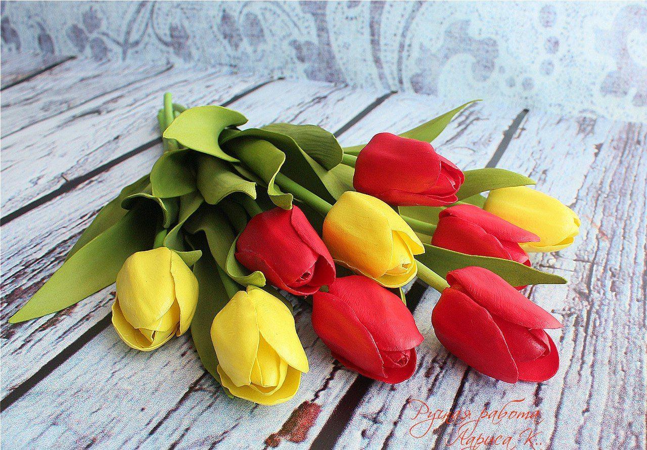 tulip-foamiran foamagaz